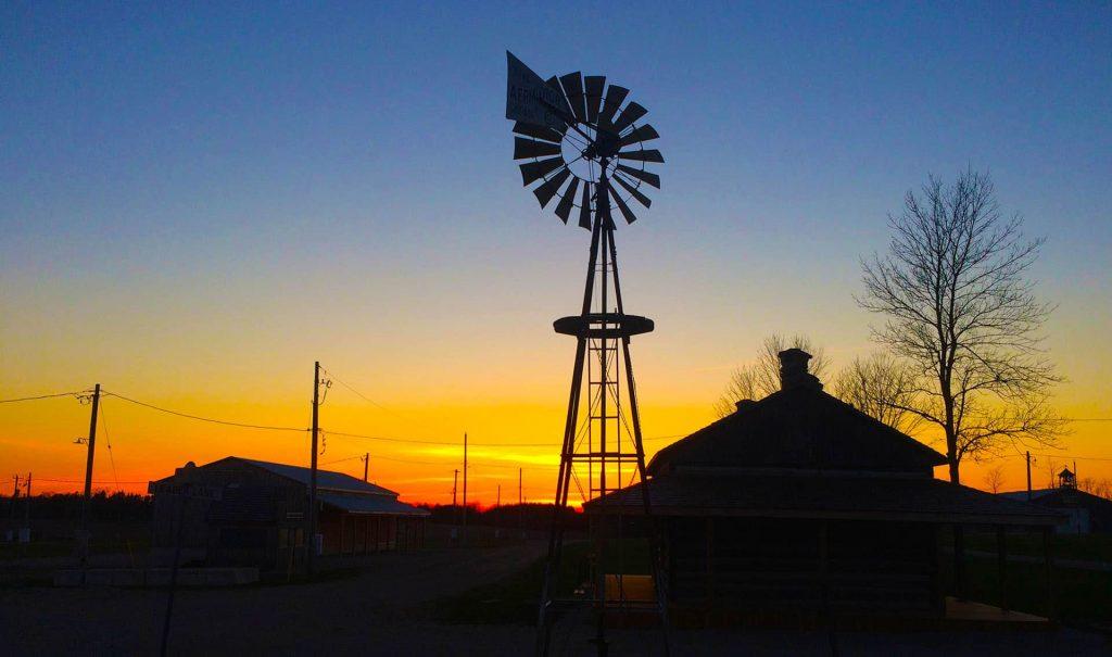 Blyth Campground Sunset